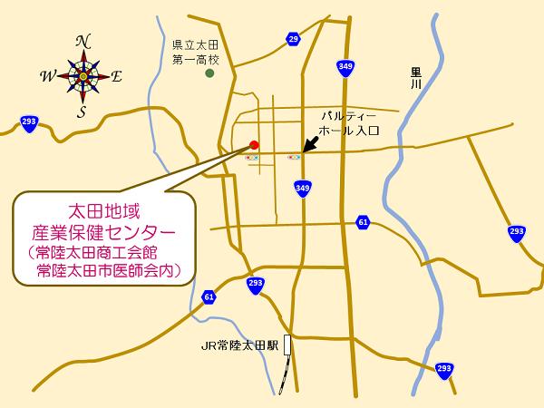 太田アクセスマップ